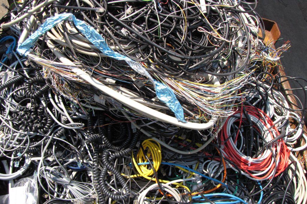 Kabel-kabelzerlegung